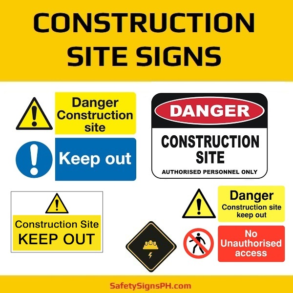 Construction Site Signs Philippines