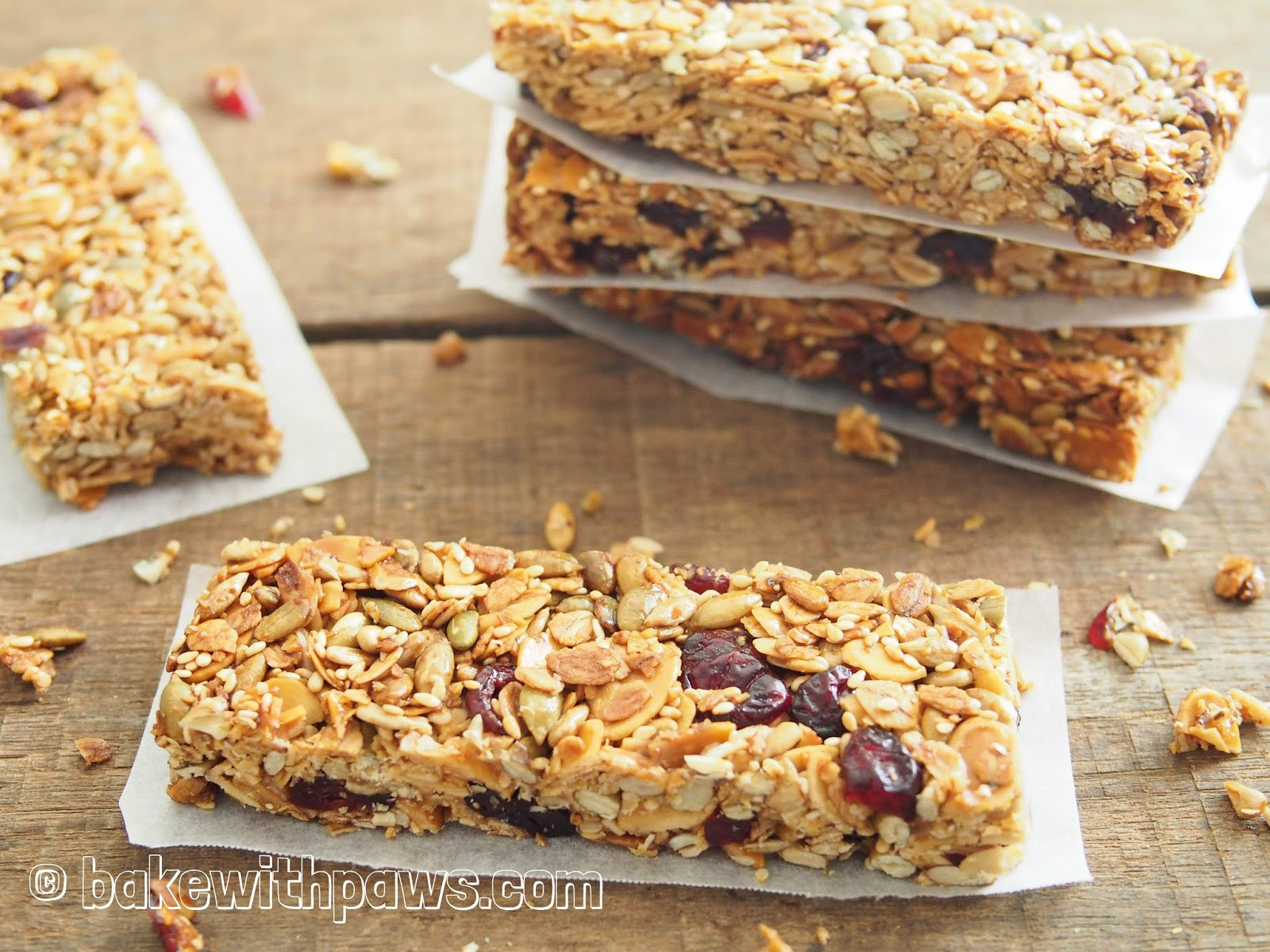To Put A Little Variety Into My Breakfast I Made This Healthy Homemade Granola Bar Did Not Use Any Sugar So Wont Feel Guilty If Eat More