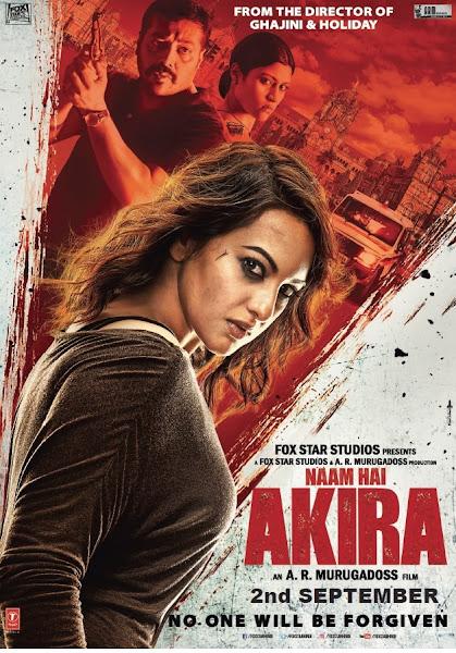Poster of Naam Hai Akira 2016 Hindi 720p BRRip Full Movie Download