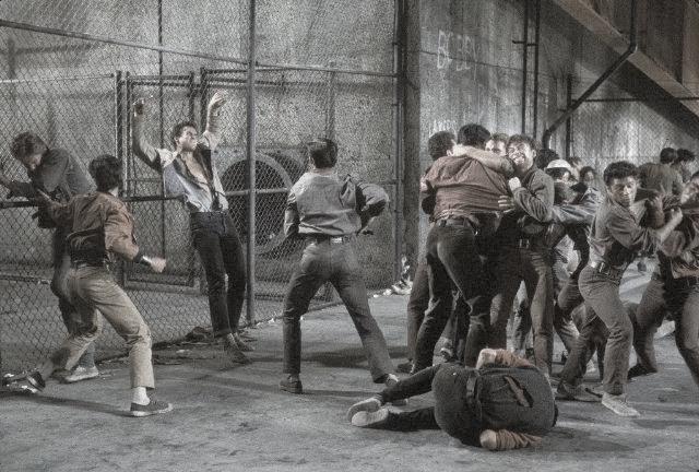 West Side Story, Classic Movie, Batı Yakası Hikayesi, Sokak Dövüşleri