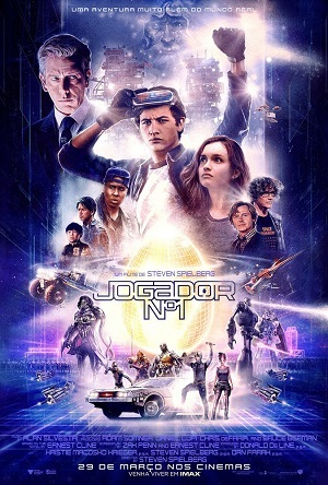 Jogador Número 1 - WEBDL Legendado Torrent Download    720p 1080p