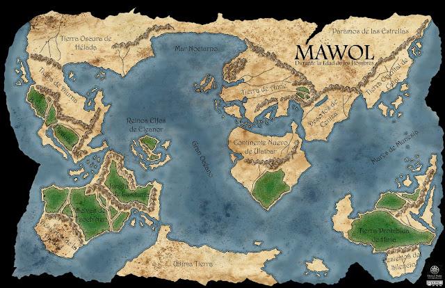 Mawol durante la Edad de los Hombres
