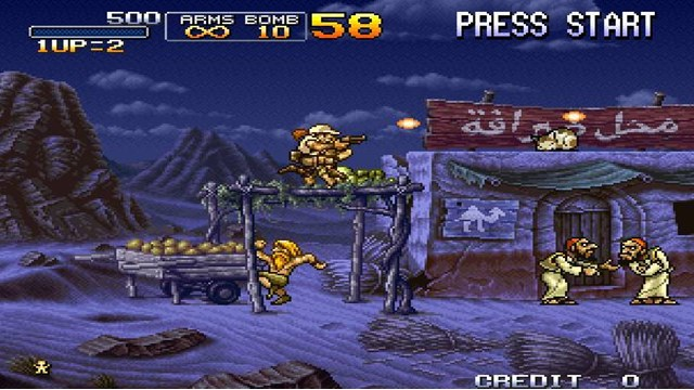 Download Metal Slug X PC Games Gameplay