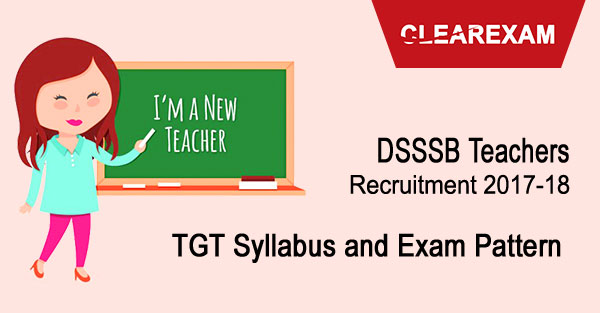 DSSSB Teachers Recruitment 2017-18: