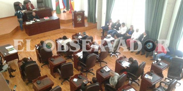 """Las sesiones en el Concejo sobre el PTD """"Recuperemos a Facatativá"""""""