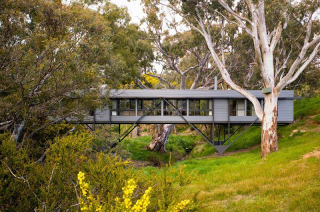 Long Box Brigde House in Australia