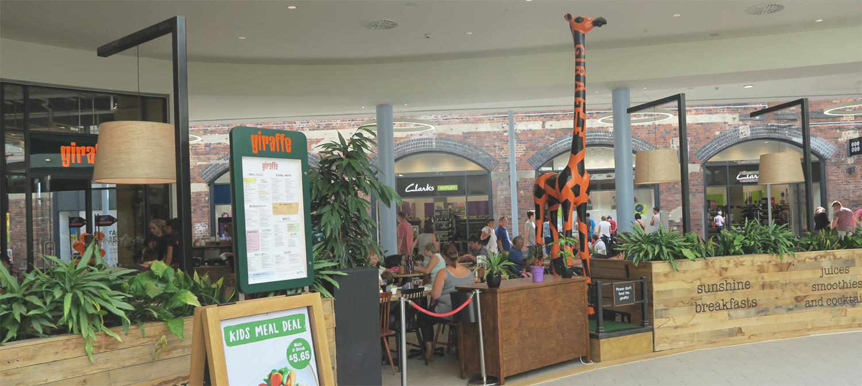 giraffe restaurants