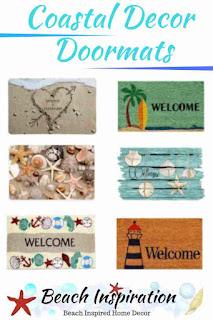 Coastal Doormats For Beach House Front Door