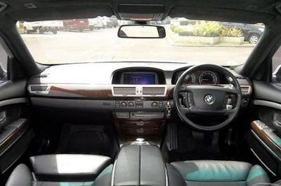 Interior Dashboard BMW E66 Facelift