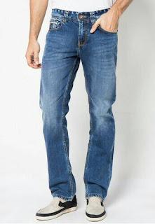 Celana Panjang Jeans Pria Lois Original