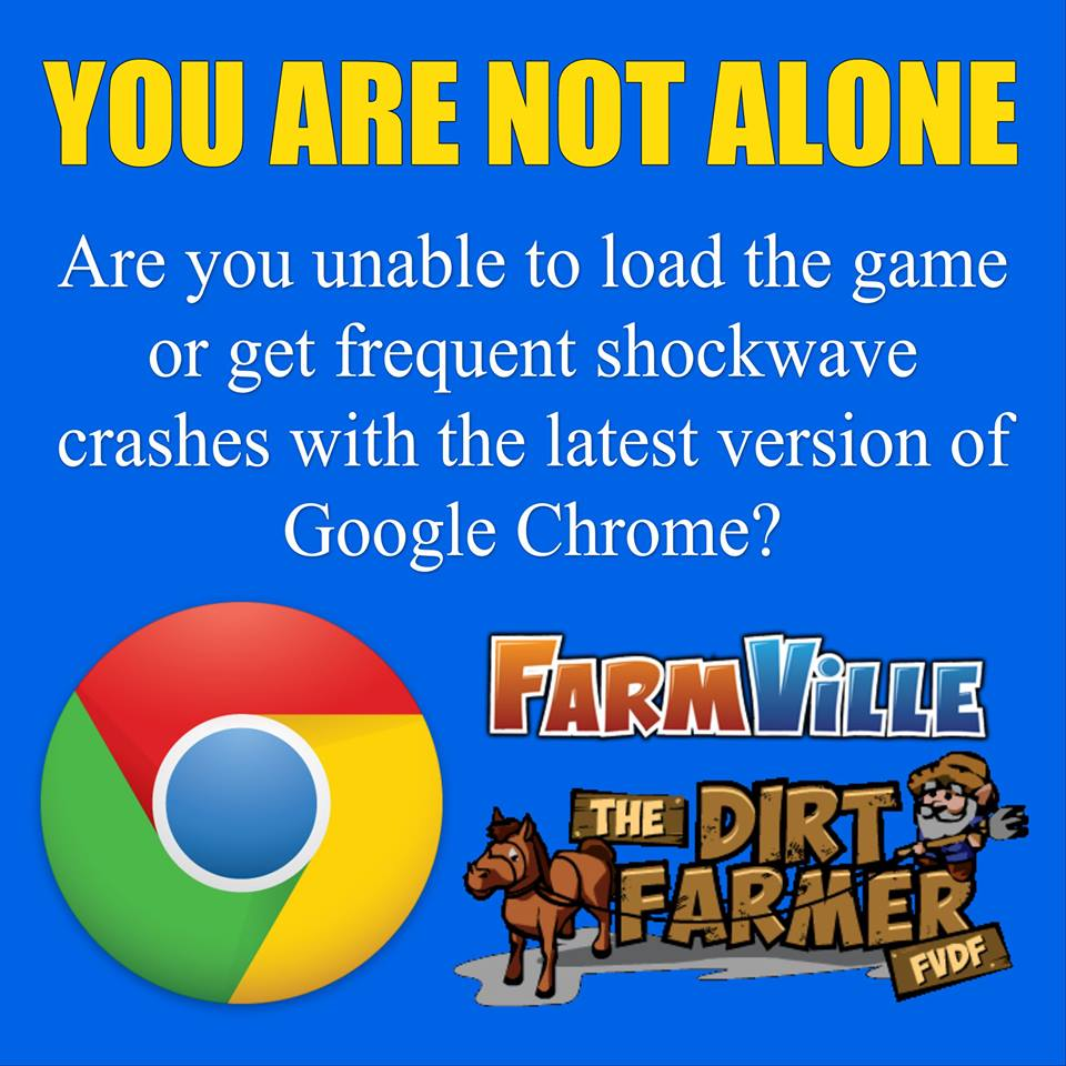 Are You Unable To Load The Game Or Get Frequent Shockwave Crashes With The  Latest Version Of Google Chrome?