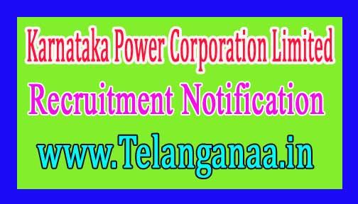 KPCL (Karnataka Power Corporation Limited) Recruitment Notification 2017