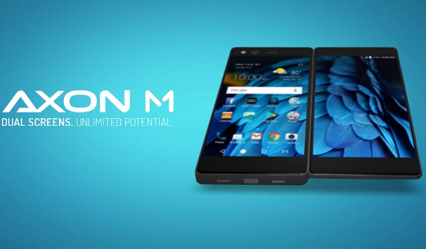 ZTE launches foldable Dual-Screen smartphone, the Axon M