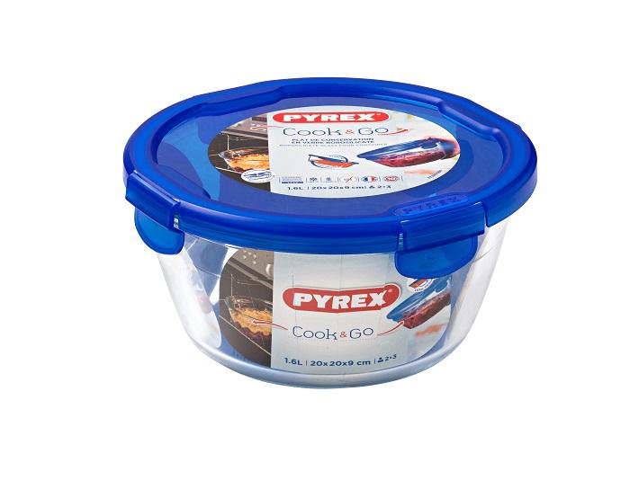 Cook&Go סדרת כלי אחסון מזכוכית של פיירקס Pyrex