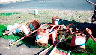 Registro-SP substitui lixeiras urbanas em mau estado de conservação