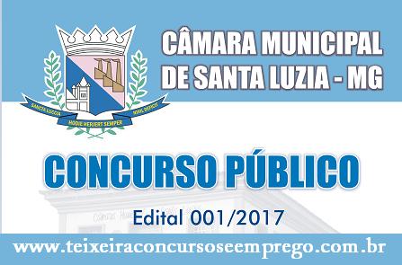 Apostila Concuro Câmara de Santa Luzia MG (Todos os Cargos)