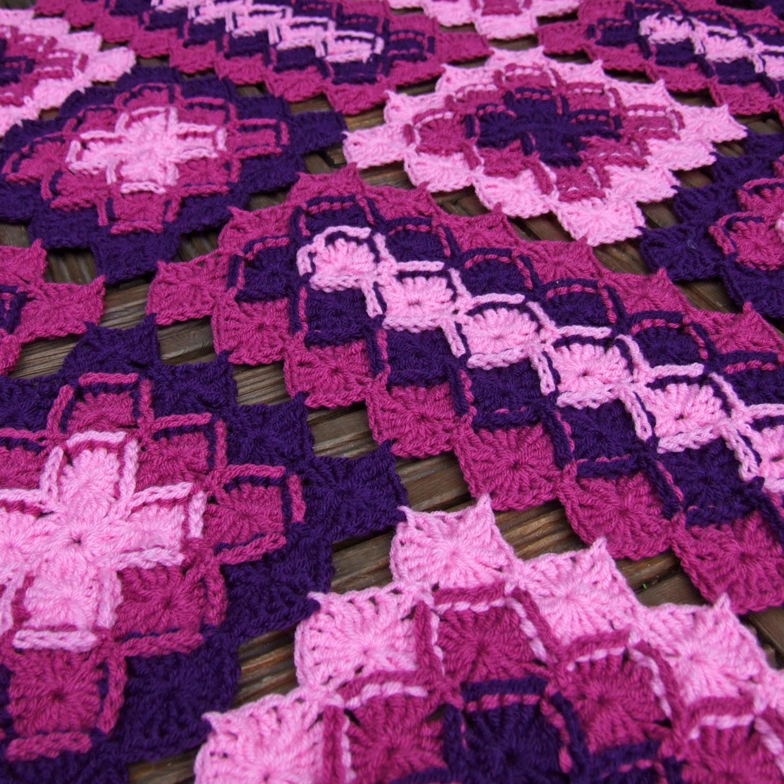Bavarian Lap Blanket Woolnhook By Leonie Morgan