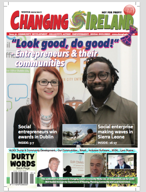 Changing Ireland BLOG: Cover story - Look Good, Do Good