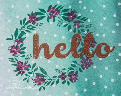 Hello Cards for New Stampin' Super Stars.  Buy Stampin' Up! UK here