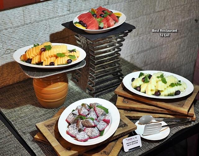 BBQ BUFFET Dessert Menu - Fruit Platter