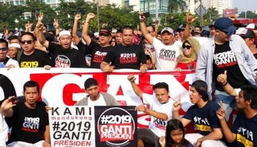 Deklarasi #2019GantiPresiden Diizinkan Kesultanan Banten