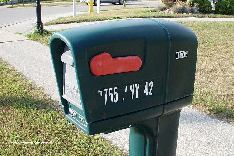 Mail boxes Wisconsin collection