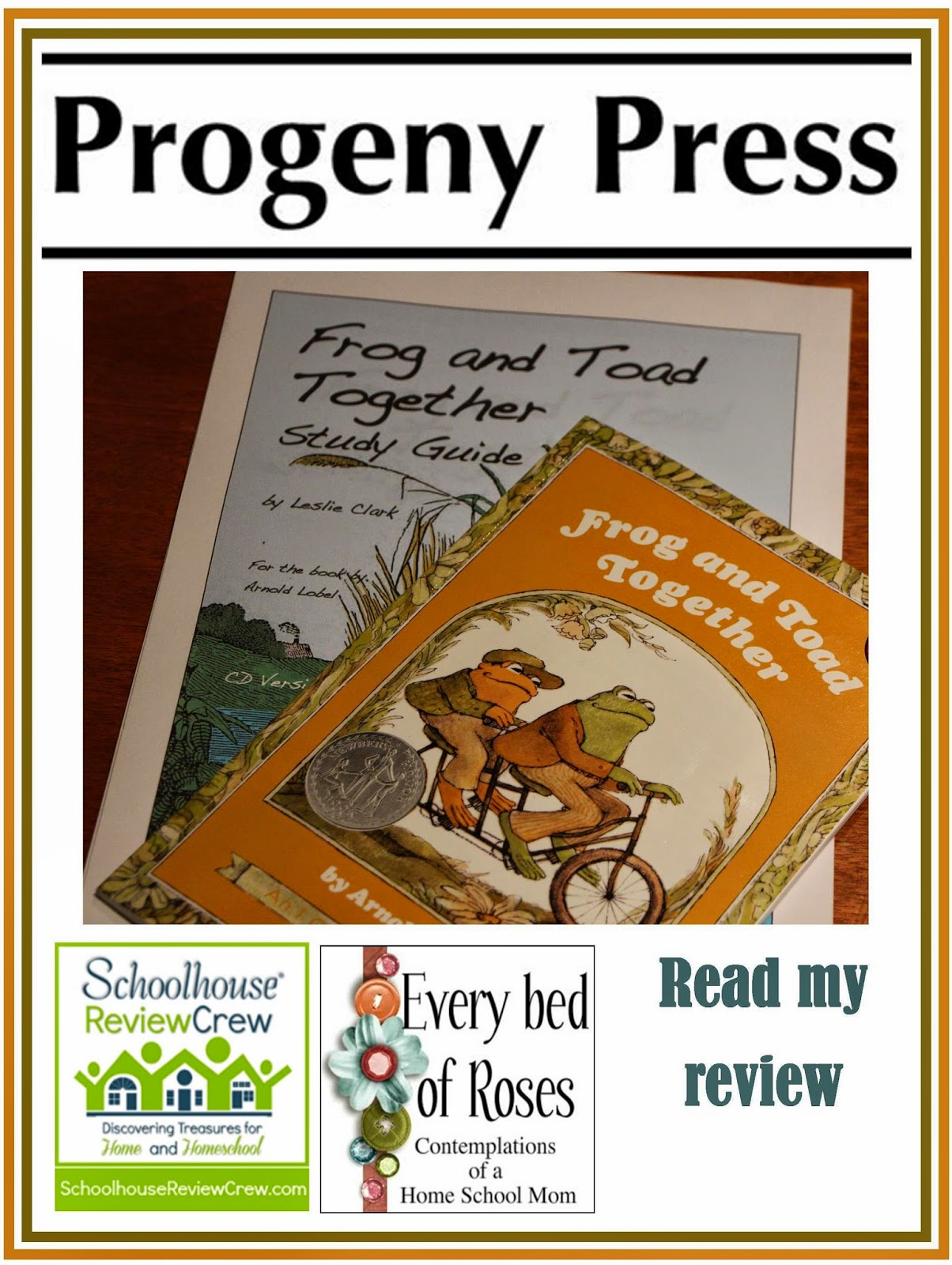 Every Bed Of Roses Progeny Press Frog And Toad Together