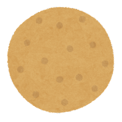 クッキーのイラスト(プレーン)