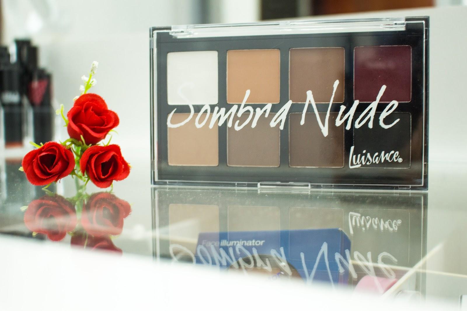 Paleta Sombra Nude - Luisance