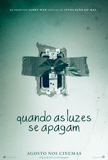 "Poster do filme ""Quando as Luzes se Apagam"""