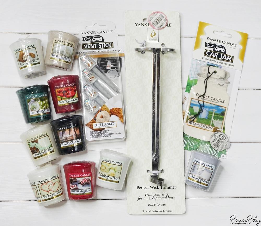samplery Yankee Candle, nożyczki do knotów, Vent Sticks
