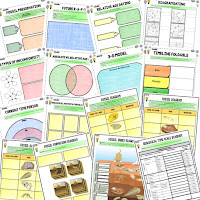 Fossils and Geological Timeline Activities, Earth Science Activities, Choice Boards, Digital Graphic Organizers