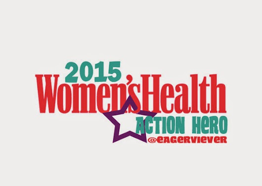 Women's Health 2015 Action Hero