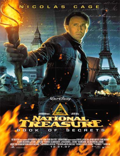 ver La leyenda del tesoro perdido 2: El libro de los secretos (2007) Online