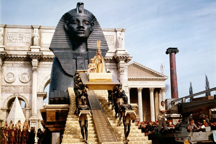 Image result for cleopatra entrance into rome