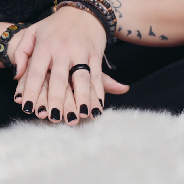 nagellack, shellack, uv-lampe, black is beautiful, me, tattoo, beautypost