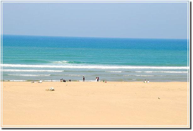 Attractions in Taiwan 臺灣旅遊景點: Fulong Beach in Taipei 臺北福隆海水浴場