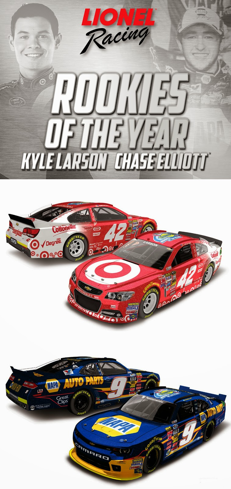 Rookie of the Year Die-Cast Get a New Special Finish