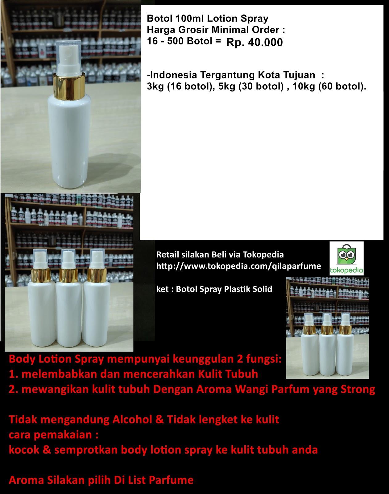 Parfume Refill Bandung Botol Spray 100 Ml Harga 16 September 2018 Sudah Termasuk Isi Parfum Ada Kenaikan Disebabkan Kurs Rupiah Melemah Terhadap Dollar Dan Euro