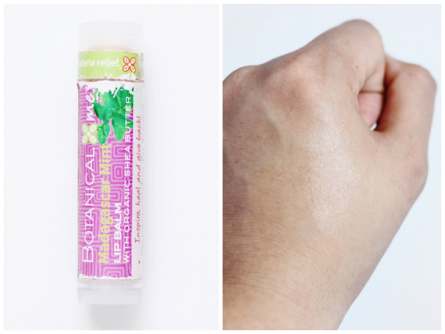 Botanical Me Madagascar Mint Lip Balm