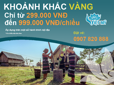 """Vietnam Airlines khuyến mãi """"Khoảnh khắc vàng"""""""
