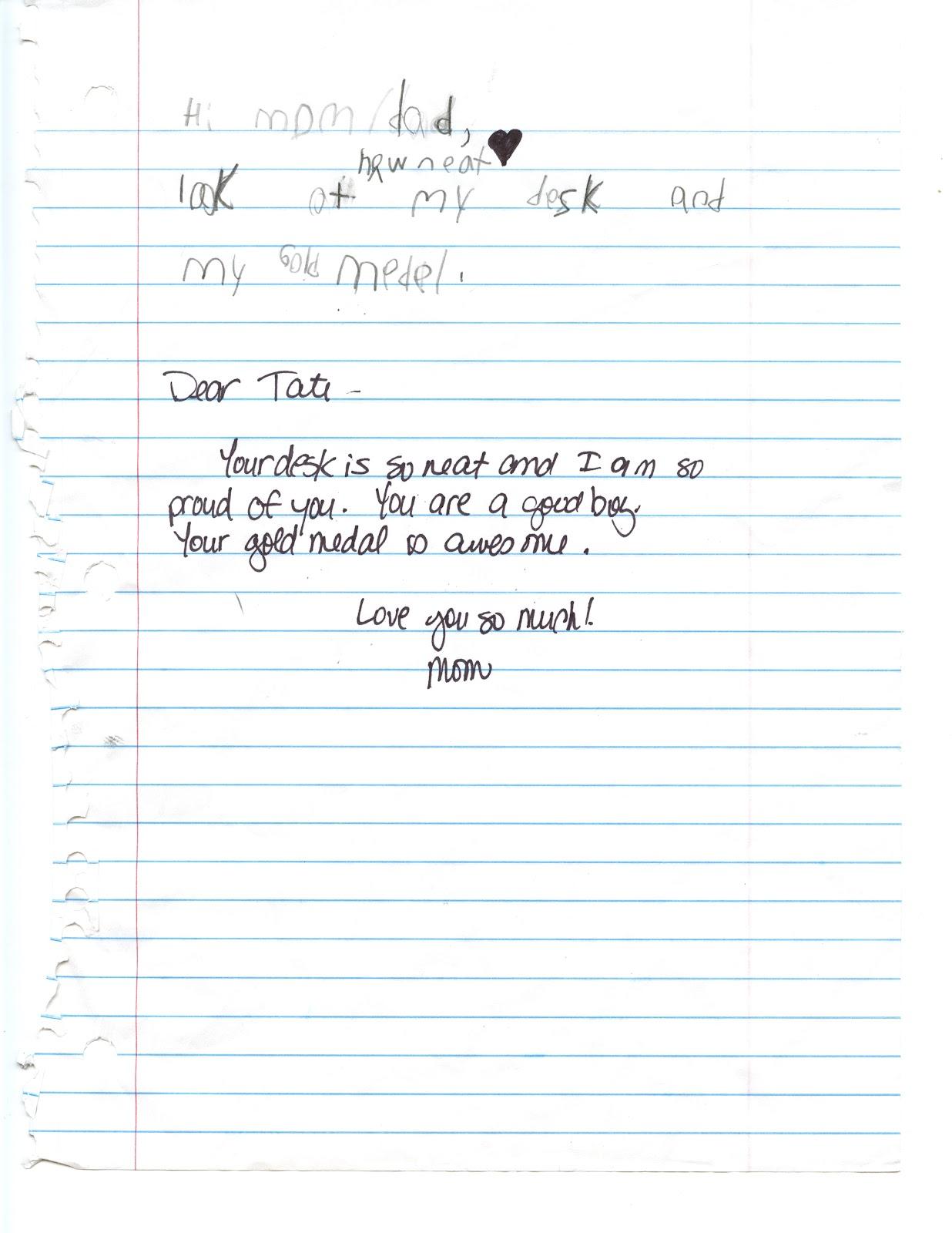Siblings So Sweet Curriculum Night Letters