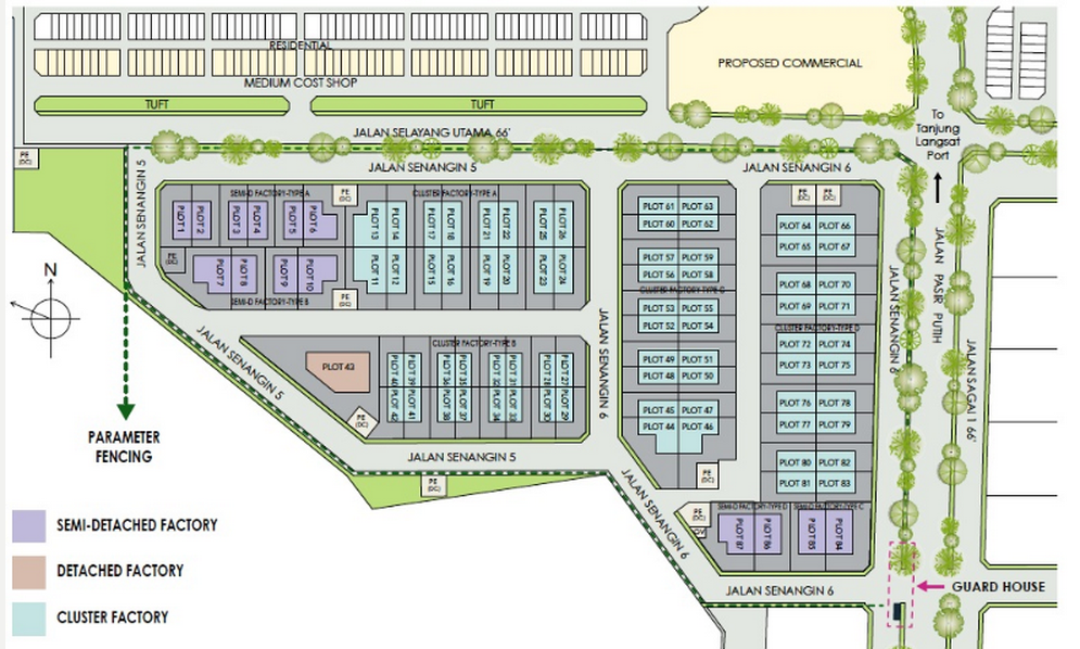 Harvest Green @ Sime Darby Business Park Site Map