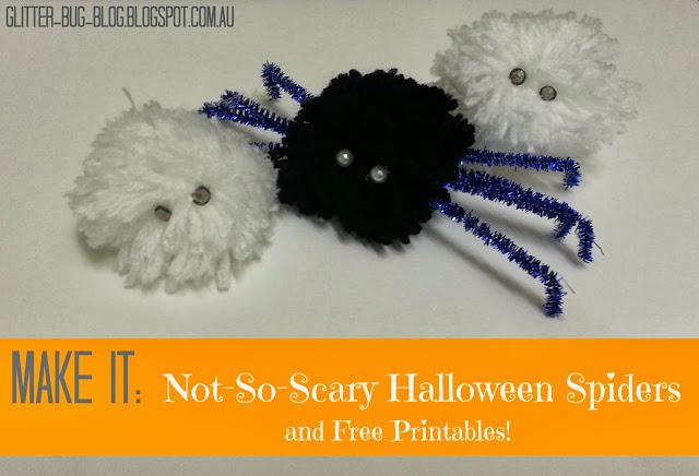 Halloween Spiders DIY