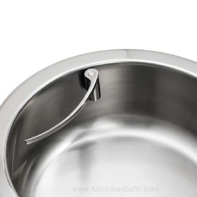 soporte bayeta curvo fregadero cocina magnetico