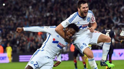 Khi được chiến đấu trên sân nhà Velodrome, các cầu thủ Marseille như hổ thả về rừng