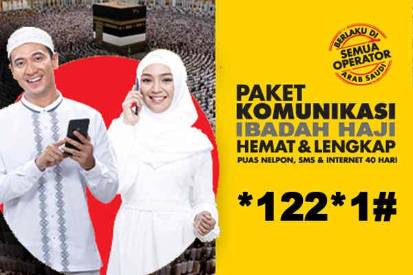 sms dan internet Indosat Ooredoo bagi Jemaah haji Cara Daftar Paket Haji Indosat, Nelpon dan Internet 2018
