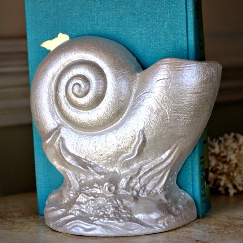 Sea Shell Bookends