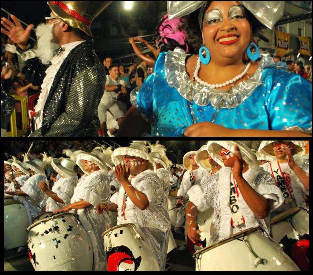 Desfile de Llamadas.Yambo Kenia. Montevideo. 2011.