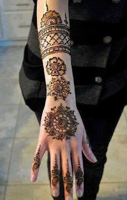 good mahendi design image